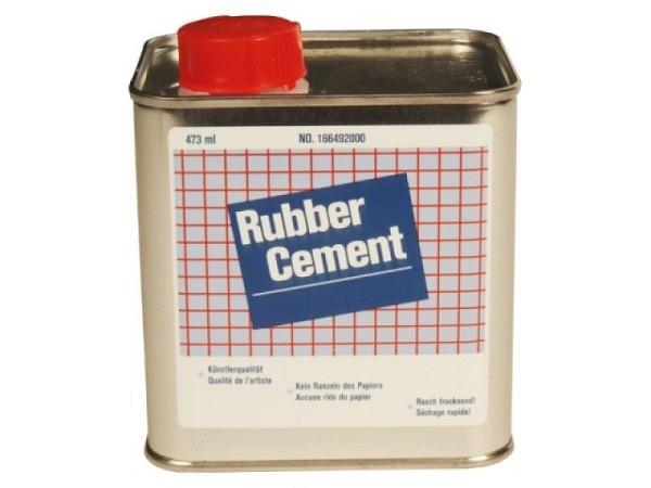 Leim Rubber Cement 473ml, flüssig, transparent, wasserfest