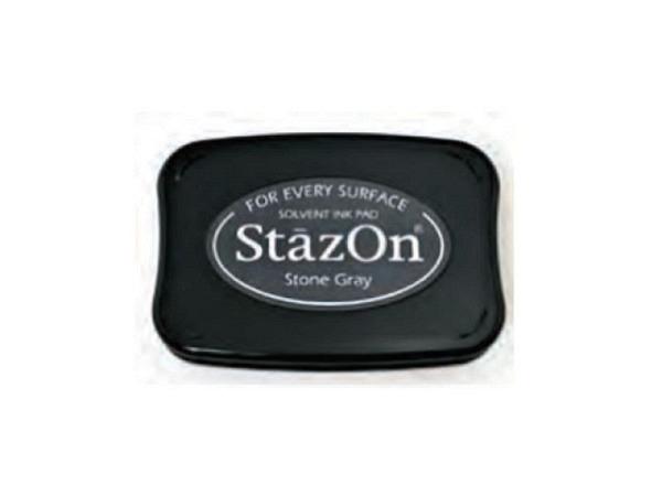 Stempelkissen StazOn vibrant Stone Grey 6x10cm