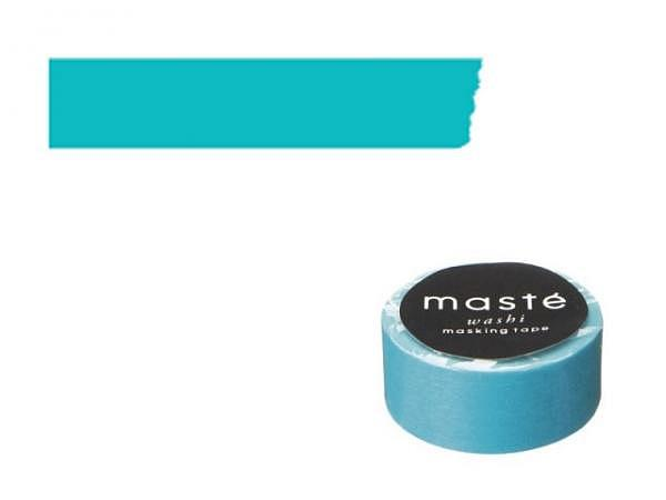 Klebeband Mark's Masté Washi Masking Colorful Turquoise