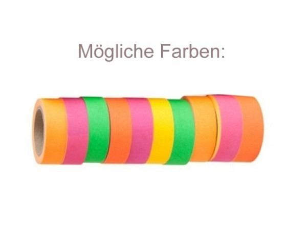 Klebeband Artebene Masking Tape Neon 1 Rolle