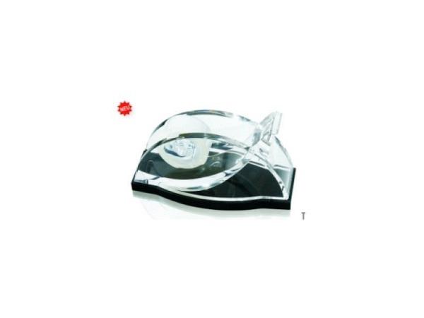 Abroller Wedo Akryl schwarz für Klebrollen maximal 19mmx33m