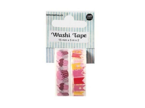 Klebeband Artebene Masking Tape Glitter 1 Rolle