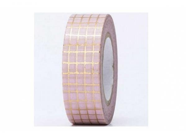 Klebeband PaperPoetry Hot Foil Gold Gitter gold auf altorsa, 15mm breit, 10m lang. Selbstklebendes W