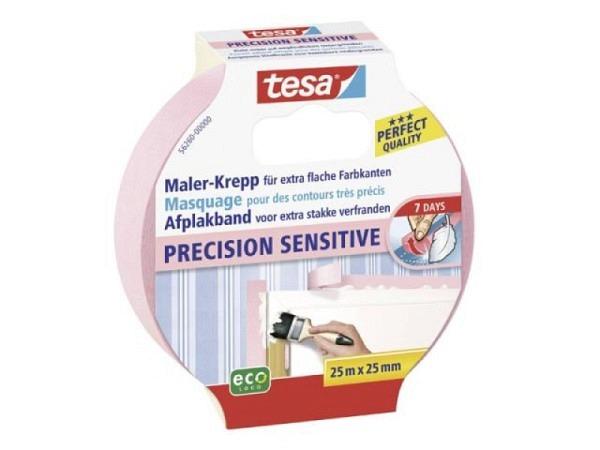 Abdeckband Tesa Precision Sensitive 25mmx25m