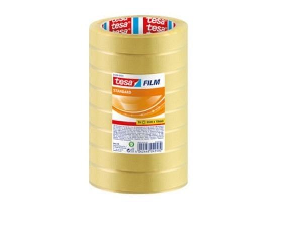Klebeband Tesa Film Standard 19mmx66m, 8 Stück