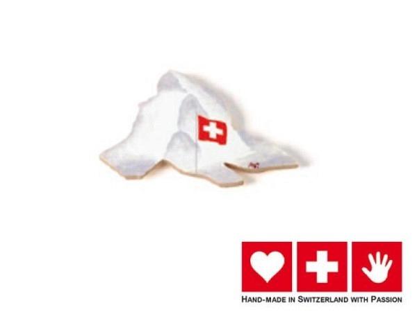 Magnet Atelier Passage Matterhorn mit Schweizerfahne