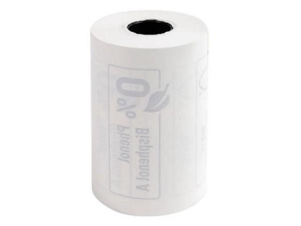 Additionsrolle Thermo einfach Papierbreite 44mmx57m, Rollendurchmesser 68mm, Kerndurchmesser 17,5mm, 55g/qm