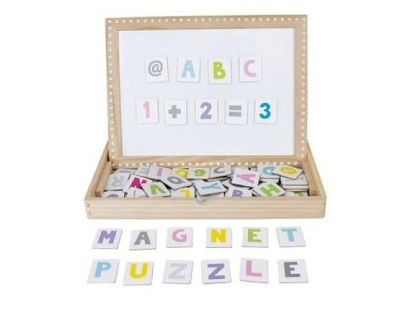 Buchstaben Magnet Jabadabado Abc farbig, 24x30x4 mm