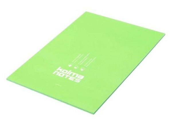 Moderationskarten Kolma Notes A4 grün 50 Blatt