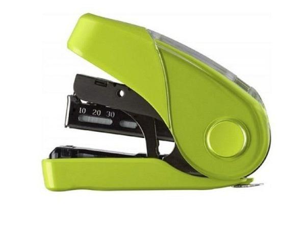 Heftapparat HD-10FL hellgrün, Flachhefter