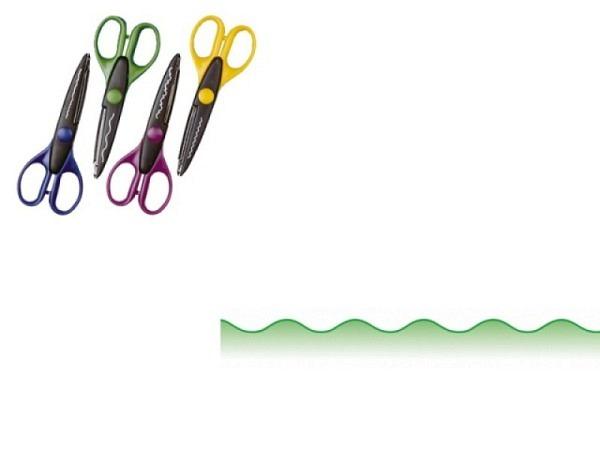 Schere Wedo Konturenschere Wellenschnitt, Länge: 160mm