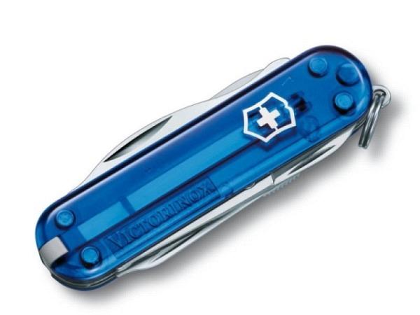 Messer Victorinox Classic Line klein Manager, 58mm, blau