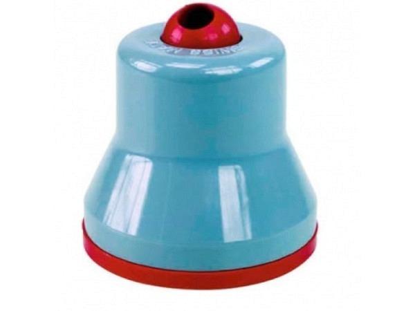 Spitzer Gedess für 2mm-Minen grau/rot