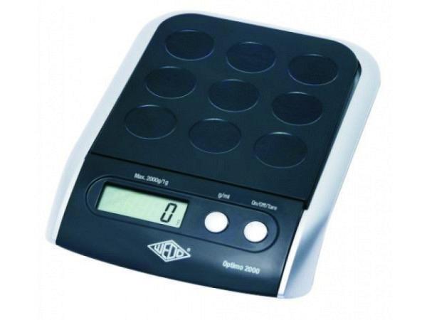 Waage Wedo Optimo 5000 bis 5kg in 1-Gramm-Schritten