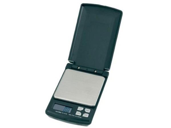 Waage Maul Pocket II schwarz bis 500g, Teilung 0,1g
