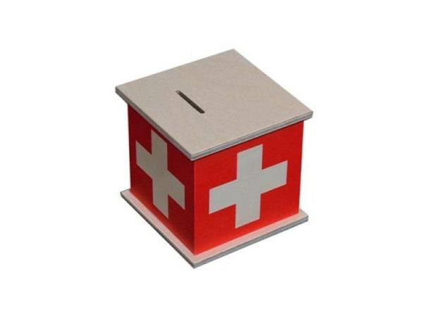 Geldkassette Atelier Fischer Schweizerkreuz