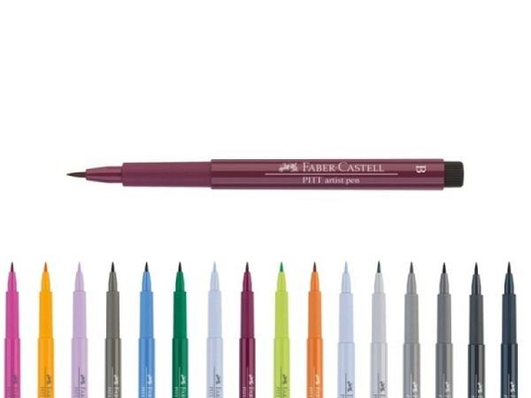 Brush-Spitze 146 smalteblau Faber-Castell 167446 Artist Pen B