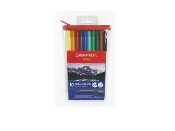 Pinselstift Caran d'Ache Fibralo Brush 10er Set