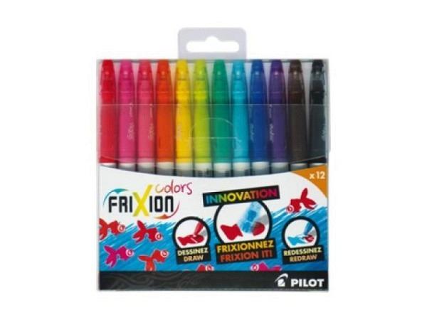 Filzstift Pilot Frixion Colors 12er Set, Faserstift