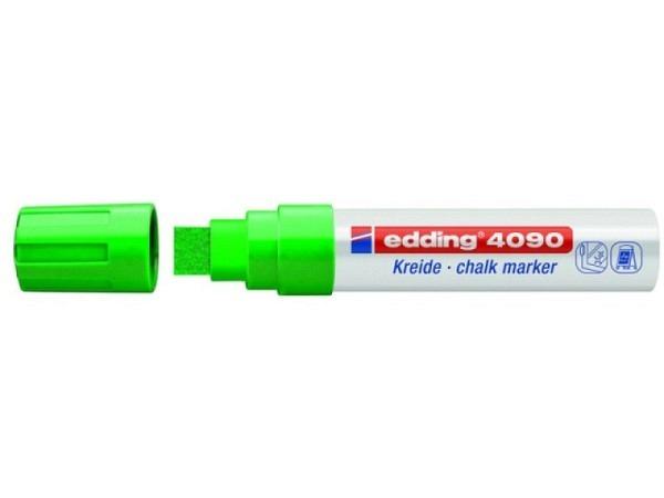 Filzstift Edding 4090 Kreidemarker 15mm grün