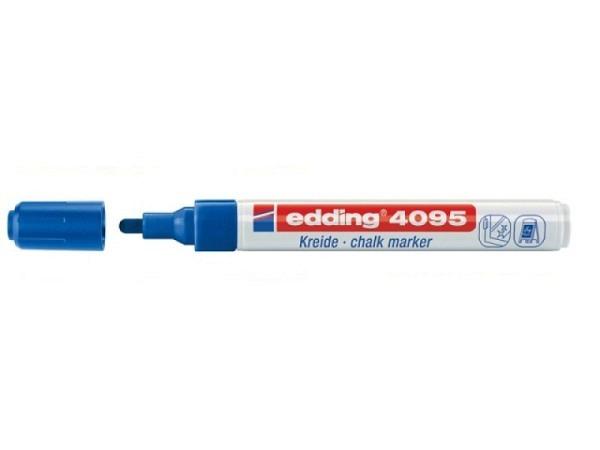Filzstift Edding 4095 Kreidemarker 3mm blau