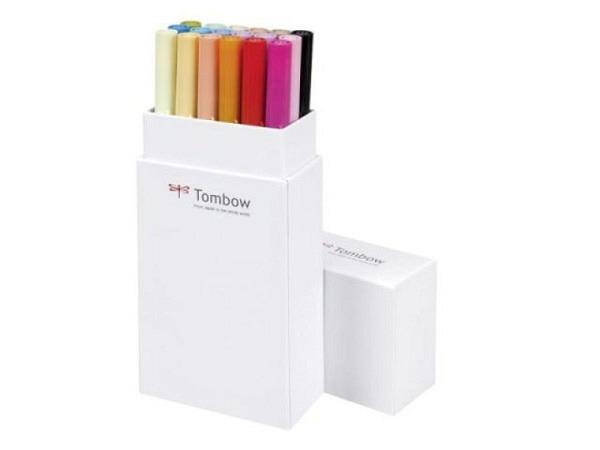 Filzstift Tombow ABT Dual Brush Pen Set 18er Grundtöne 2