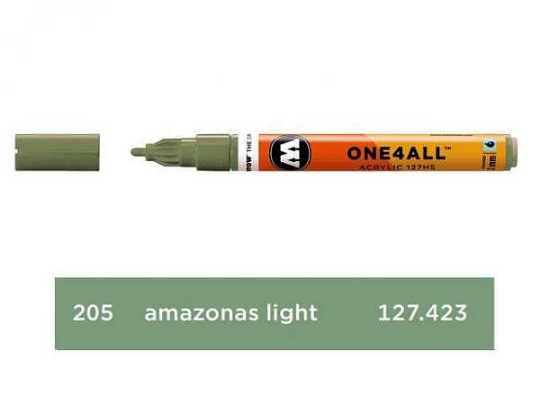 Filzstift Molotow One4all 127HS-CO amazonas light 205