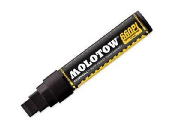 Filzstift Molotow CoversAll Signal Black 15mm Broad-Spitze