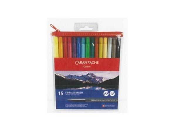 Pinselstift Caran d'Ache Fibralo Brush 15er Set