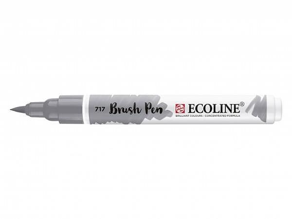 Pinselstift Talens Ecoline Brush Pen kaltgrau 717