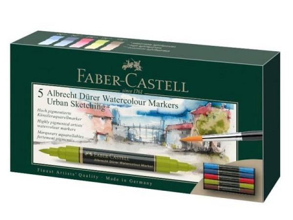 Filzstift Faber-Castell Albrecht Dürer 5er Set Urban Sketching