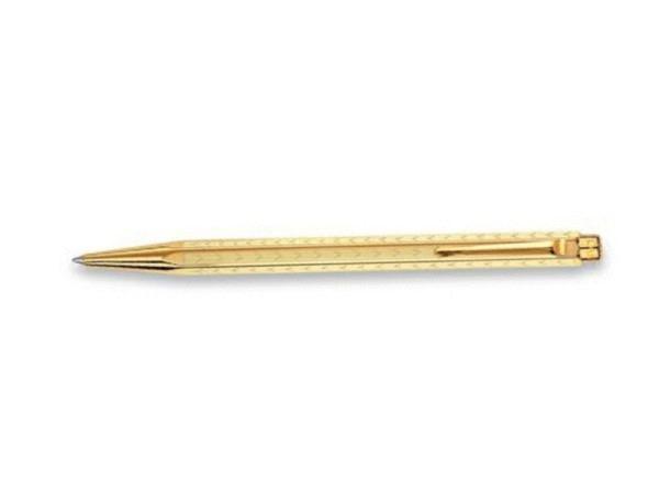 Roller Caran dAche Ecridor Chevron, vergoldet