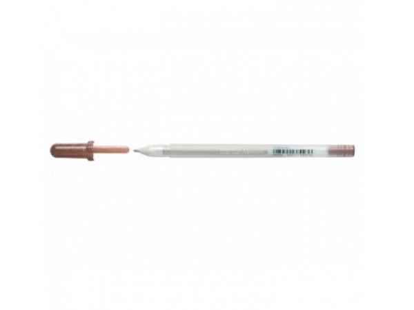 Roller Sakura Gelly Roll Metallic Stift sepia 17