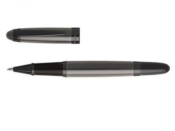 Roller Hugo Boss Mime Pad Chrome mit Touchpen schwarz