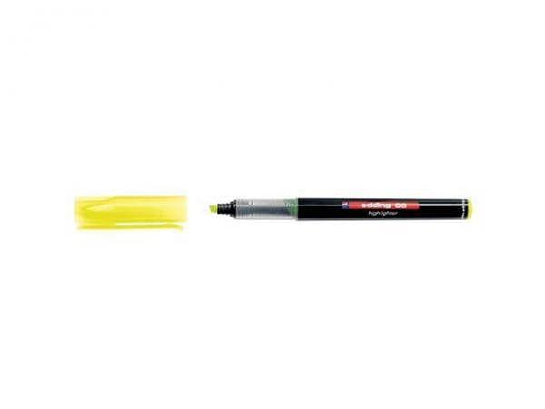Leuchtstift Online Beauty&Style Mini 12cm lang in den Farben gelb, orange, pink oder grün erhältlich, mit Doppelspitz: fein oder abgeschrägt breit