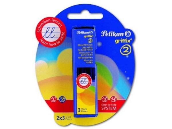 Bleistiftminen Pelikan Griffix 3Stk., Minendurchmesser 2mm