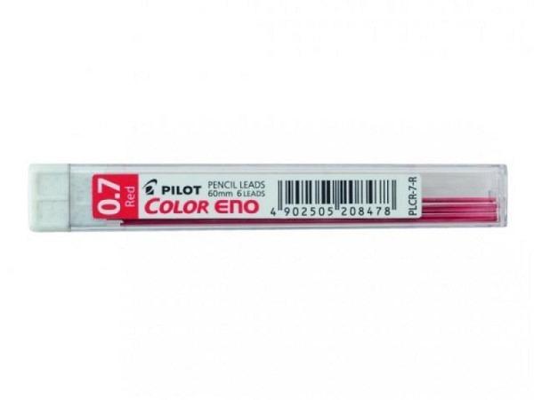 Minen Pilot Color Eno 0,7mm rot 6Stk., 60mm lang