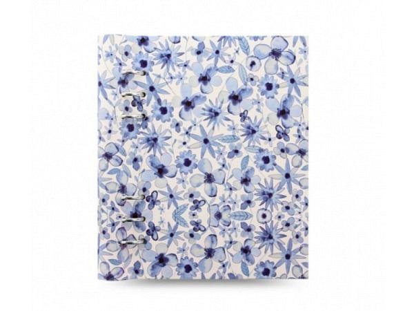 Ringbuch Filofax Clipbook A5 indigo floral