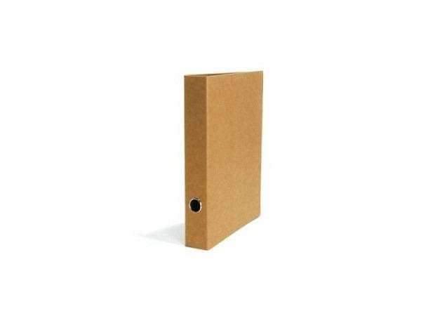 Ringbuch Schwartz Kraftpapier 5cm Rückenbreite, A4