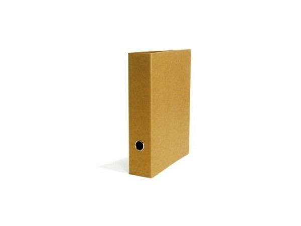 Ringbuch Schwartz Kraftpapier 7cm Rückenbreite, A4