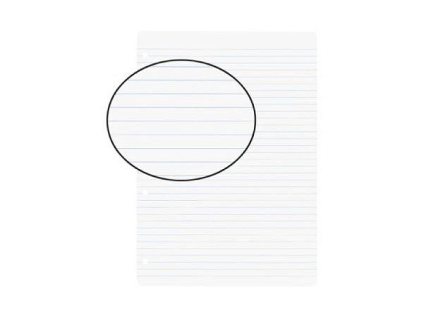 Ringbucheinlagen Biella A4 liniert ohne Rand