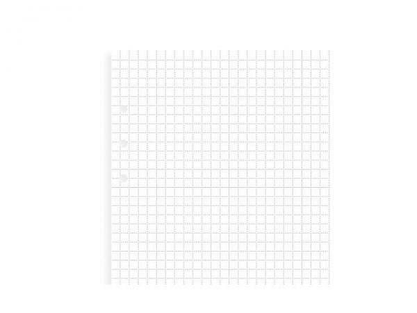 Ringbucheinlagen Filofax Clipbook A5 kariert 25Blatt 80g/qm