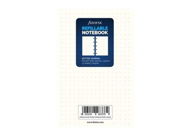 Ringbucheinlage Notizpapier Filofax Pocket punktkariert