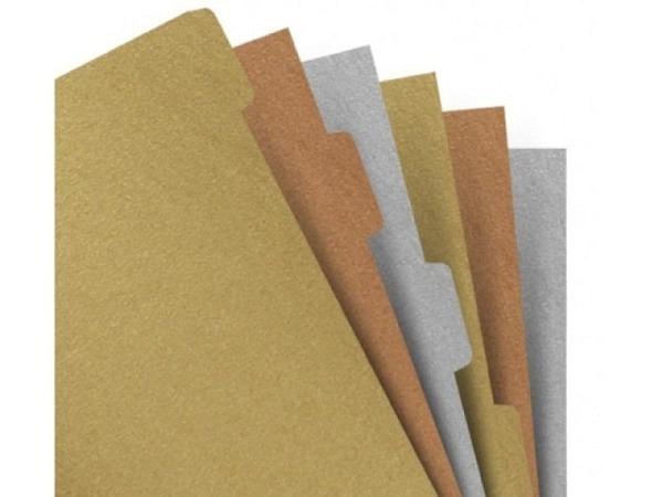 Ringbucheinlage Notizpapier Filofax A5 Register Metallics 4 tlg.