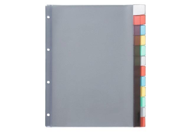 Register Kolma XL Kunststoff farbig Longlife A4 12tlg.