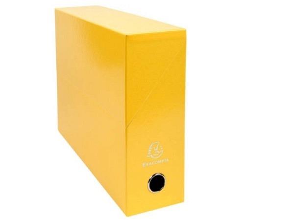Archivschachtel Exacompta Iderama Transferbox A4 gelb