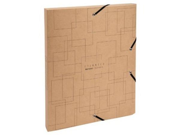 Sammelbox Bigso Box Papierbezug Olof altrosa A4