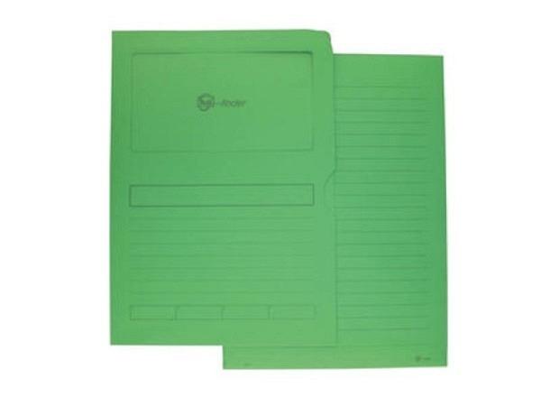 Ordnungsmappe Goessler G-Finder grün, aus Papier 120g