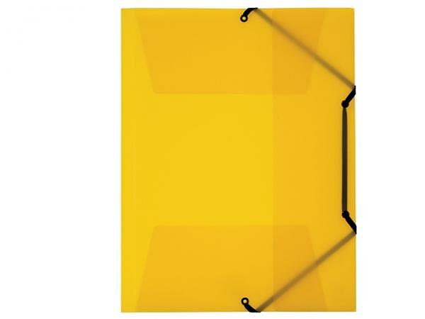 Pendenzenmappe Kolma Penda Easy A4 transparent gelb