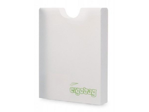 Heftbox Satch Ergobag A4 transparent, oben geöffnet